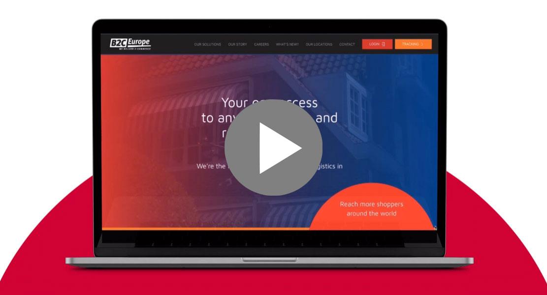 B2C Europe Website